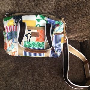 Coach patchwork bag